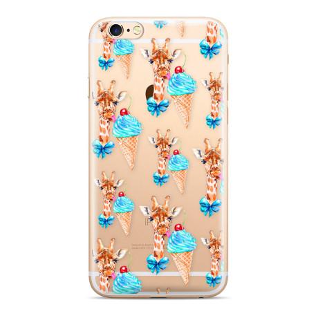 Husa Silicon Samsung Galaxy S10 Giraffe 008