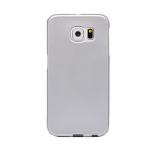 Husa silicon Samsung Galaxy S6, Contakt Argintie