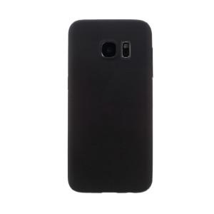 Husa silicon Samsung Galaxy S6 Edge, Contakt Neagra