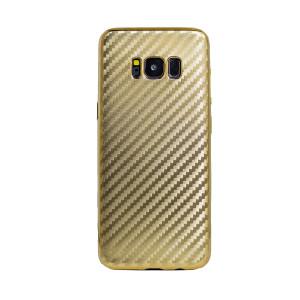 Husa Silicon Samsung Galaxy S8 Auriu