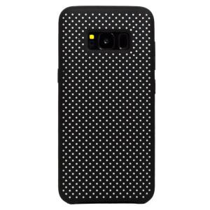 Husa silicon Samsung Galaxy S8 iShield Negru-Alb