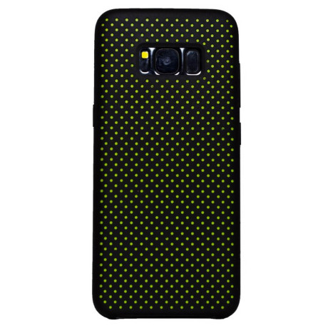 Husa silicon Samsung Galaxy S8 iShield Negru-Verde