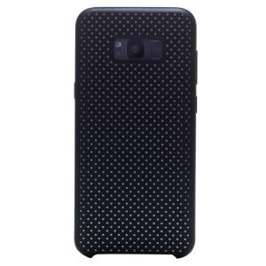 Husa silicon Samsung Galaxy S8 Plus iShield Negru-Alb