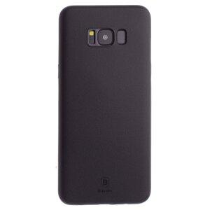 Husa Silicon Samsung Galaxy S8 Plus Wing, Baseus, Neagra