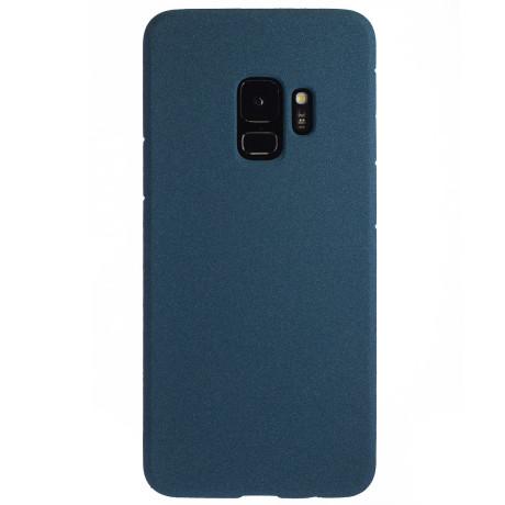 Husa Silicon Samsung Galaxy S9 , Albastru Sand