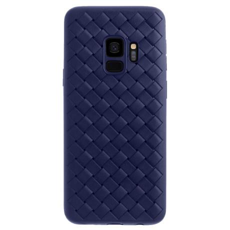 Husa silicon Samsung Galaxy S9 Baseus Weaving Albastra