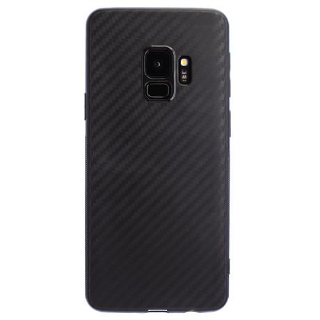 Husa Silicon Samsung Galaxy S9, Negru Carbon