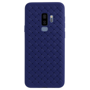 Husa silicon Samsung Galaxy S9 Plus Baseus Weaving Albastru