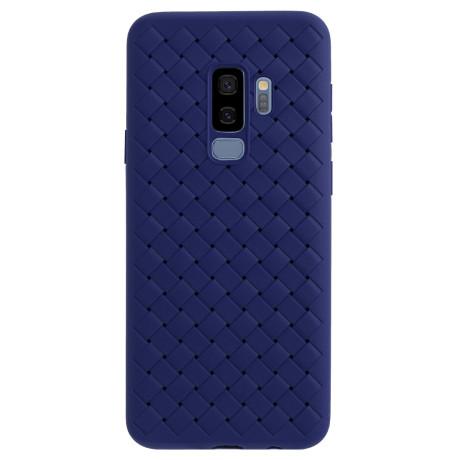 Husa silicon Samsung Galaxy S9 Plus Baseus Weaving Albastru
