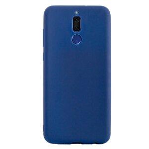 Husa silicon slim Huawei Mate 10 Lite, Contakt Albastru mat