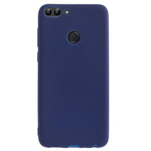 Husa silicon slim Huawei P Smart, Albastru Mat