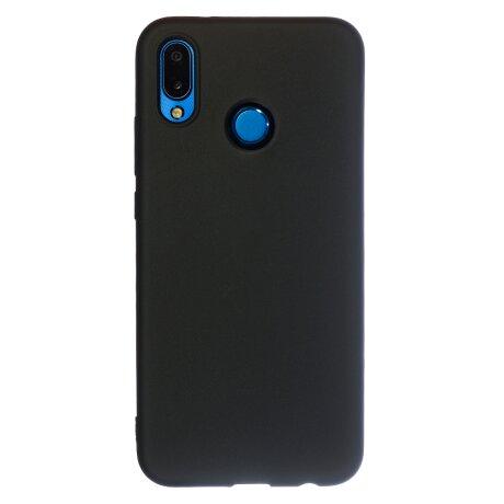Husa Silicon Slim Huawei P20 Lite, Negru Mat
