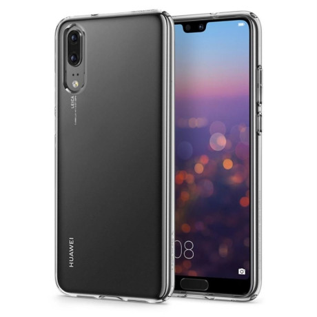 Husa silicon slim Huawei P20 Transparenta