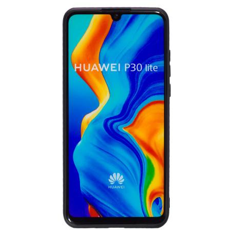 Husa Silicon Slim Huawei P30 Lite, Negru Mat
