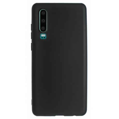 Husa Silicon Slim Huawei P30, Negru Mat