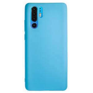 Husa Silicon Slim Huawei P30 Pro, Albastru Mat