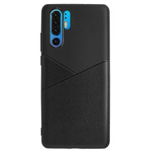 Husa Silicon Slim Huawei P30 Pro, Negru