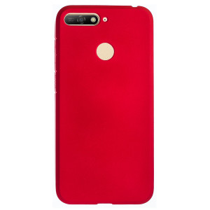 Husa Silicon Slim Huawei Y6 2018, Rosu