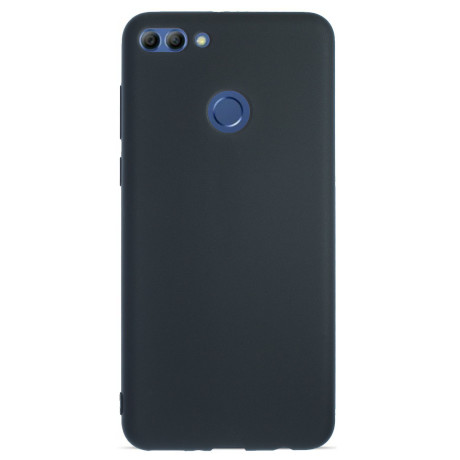 Husa Silicon Slim Huawei Y9 2018  Negru Mat