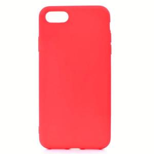 Husa Silicon Slim iPhone 5/5s Rosu Mat