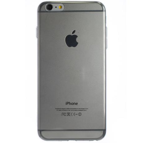 Husa Silicon Slim iPhone 6 Plus Fumuriu Slim Jacket Rock