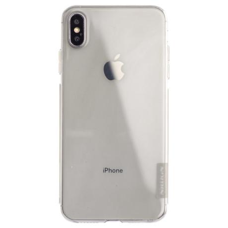 Husa Silicon Slim iPhone XS Max, Nillkin Fumurie