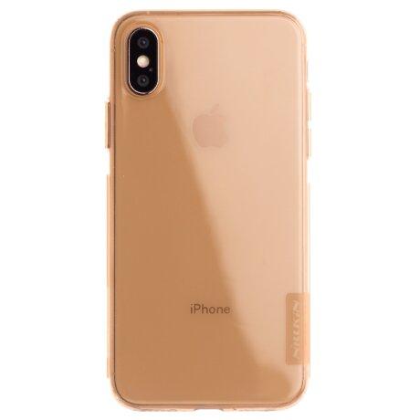 Husa Silicon Slim iPhone X/XS, Nillkin Aurie