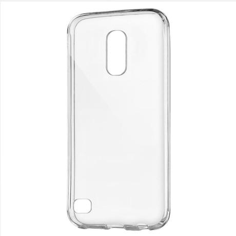 Husa silicon slim LG K10 2017, Contakt Transparenta