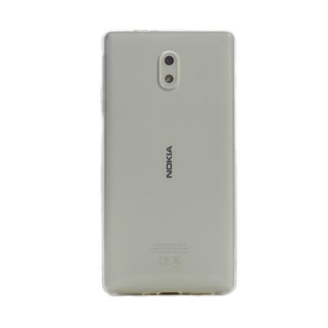 Husa silicon slim Nokia 3, Contakt Transparenta