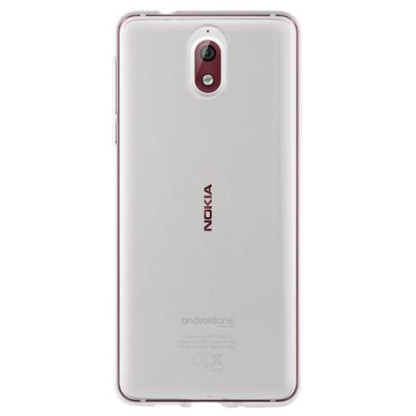 Husa Silicon Slim Nokia 3, Transparenta