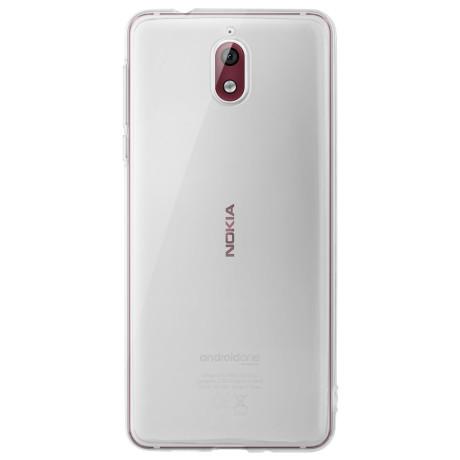 Husa silicon slim Nokia 3.1 Transparenta