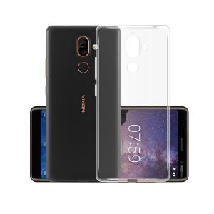 Husa Silicon Slim Nokia7 2018, Transparent