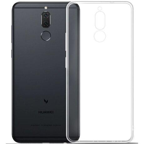 Husa Silicon Slim Pentru Huawei Mate 10 Lite Transparent