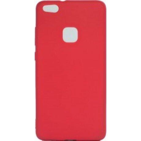 Husa Silicon Slim Pentru Huawei P10 Lite Rosu Mat