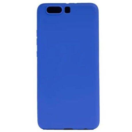 Husa Silicon Slim pentru Huawei P10 Plus Albastru Mat