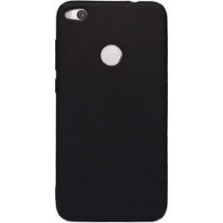 Husa Silicon Slim Pentru Huawei P8 Lite Negru Mat