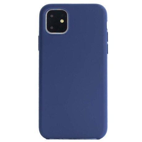 Husa silicon Slim pentru iPhone 11 Pro Max Albastru Mat