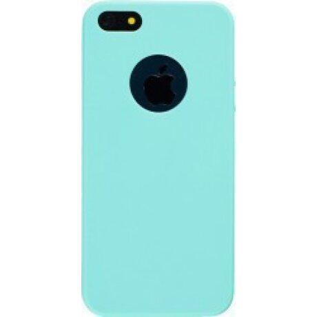 Husa Silicon Slim pentru iPhone 5/5S Mint Mat