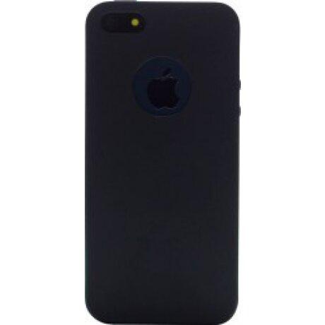 Husa Silicon Slim pentru iPhone 5/5S Negru Mat