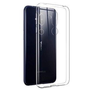 Husa Silicon Slim pentru Nokia 6.1 (2018) Transparent