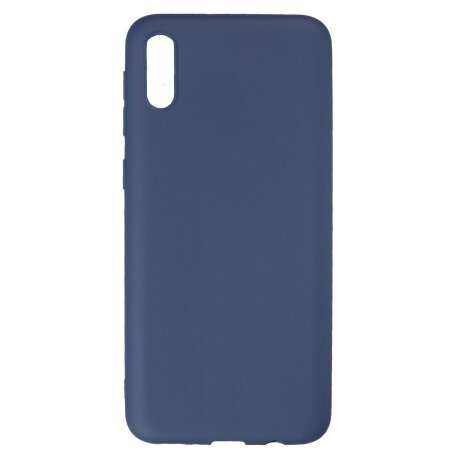 Husa Silicon Slim Pentru Samsung Galaxy A10E Albastru Mat