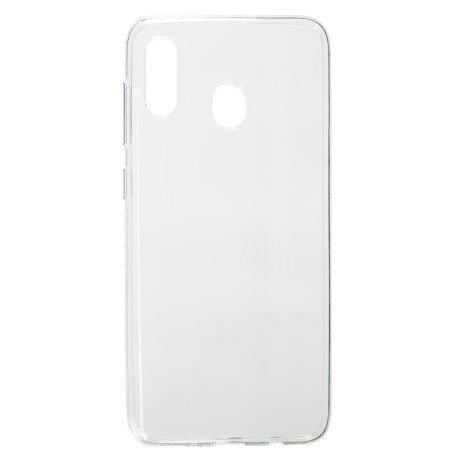 Husa Silicon Slim pentru Samsung Galaxy A20/A30 Transparent