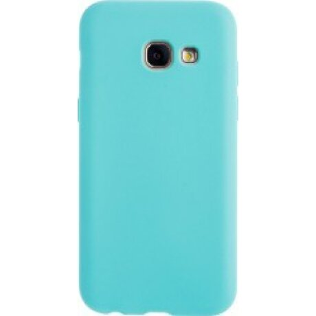 Husa Silicon Slim Pentru Samsung Galaxy A3 2017 Mint Mat