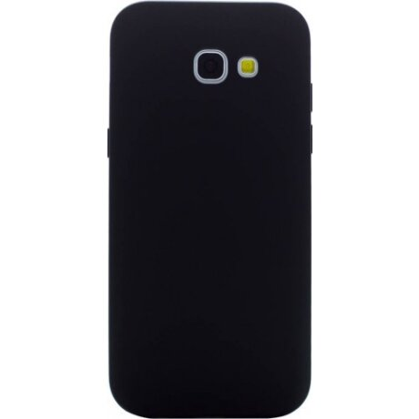 Husa Silicon Slim Pentru Samsung Galaxy A3 2017 Negru Mat