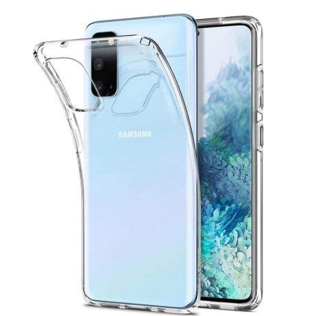 husa Silicon Slim pentru Samsung galaxy A50 Transparent