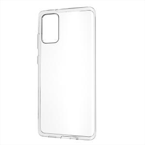 Husa Silicon Slim pentru Samsung Galaxy A71 Transparent