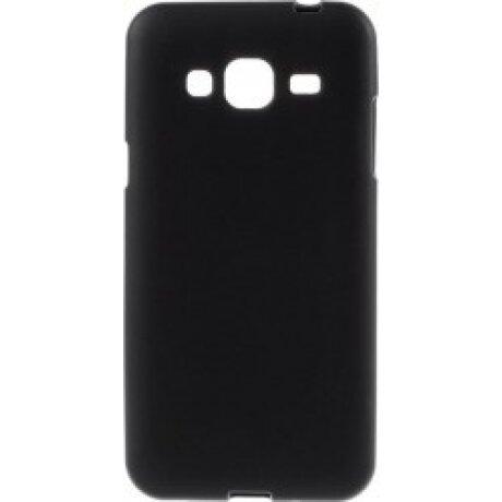 Husa Silicon Slim Pentru Samsung Galaxy J3 2016 Negru Mat