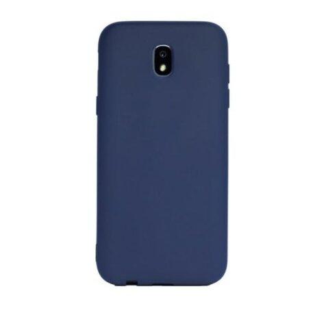 Husa Silicon Slim Pentru Samsung Galaxy J3 2017 Albastru Mat
