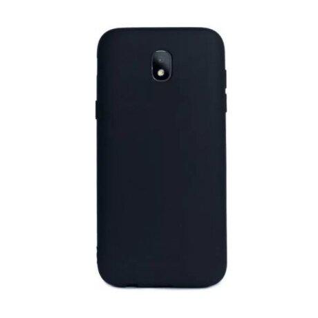 Husa Silicon Slim Pentru Samsung Galaxy J5 2017 Negru Mat