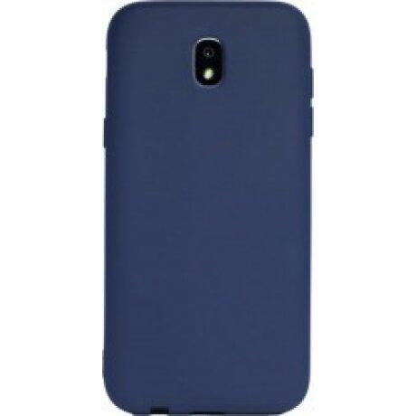 Husa Silicon Slim Pentru Samsung Galaxy J7 2017 Albastru Mat